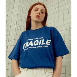 Fragile tshirt-blue