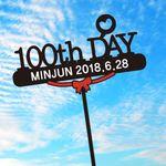 100TH DAY T014 자유문구제작 여행토퍼 케이크토퍼