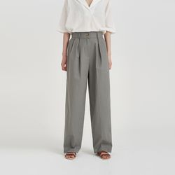pintuck linen span pants (3colors)