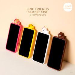 LINE FRIENDS정품 슬리핑 실리콘 케이스