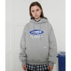 [L] Twofold recycle hoodie-gray