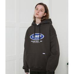 [L] Twofold recycle hoodie-dark gray