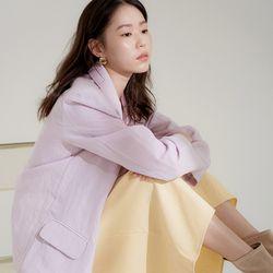 pastel linen jacket (4colors)