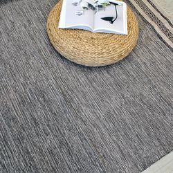 여름 순면 테슬 인도 러그 (150x200cm)