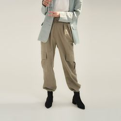linen cargo pants (2colors)