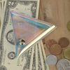 투명 홀로그램 동전지갑