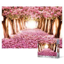 1000피스 직소퍼즐  분홍빛 가로수 길