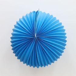 페이퍼 파티볼 30cm (블루)