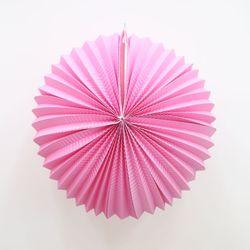 페이퍼 파티볼 30cm (핑크)
