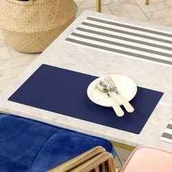스키니 블루 방수 식탁매트