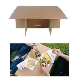 [트래블이지]휴대용 캠핑테이블(무지)