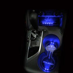 LED 컵홀더 콘솔 플레이트 투싼 CH1353672