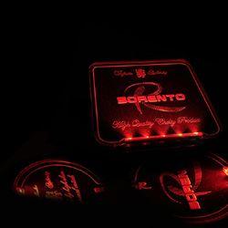 LED 컵홀더 콘솔 플레이트 쏘렌토 CH1353669