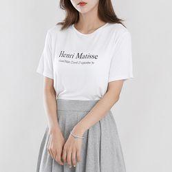 [로코식스] 그랜드 심플 티셔츠