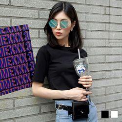 2205 롤리 반팔 티셔츠 (2colors)
