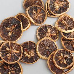말린 레몬(브라운색)