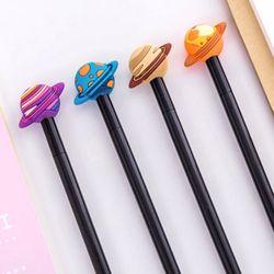 행성 우주 플래닛 블랙 잉크 펜