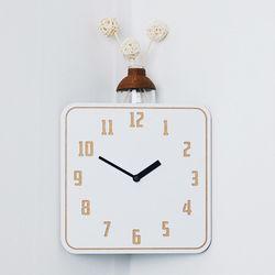(ktk106)인코너벽시계(화이트)