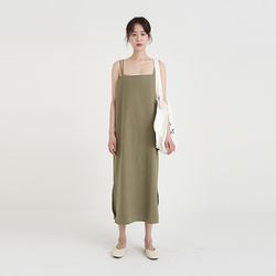 linen x-strap one-piece (2colors)