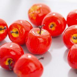 미니 사과 모형(4cm-10개)