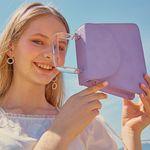 Colored Paper Bag (Violet)