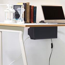 탭업 책상부착형 멀티탭 정리함 2개