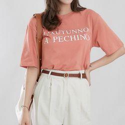 [로코식스] 치노 심플 티셔츠
