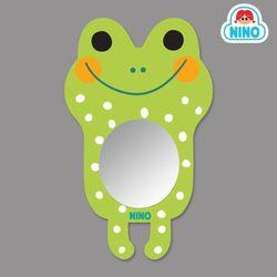 [니노 브랜드 중복상품] 니노 미러보드 안전거울 욕실거울 (개구리)