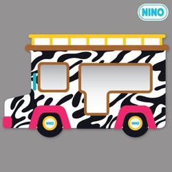 [니노 브랜드 중복상품] 니노 미러보드 안전거울 (사파리차 측면)