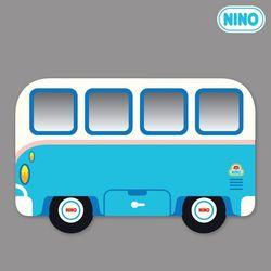 [니노 브랜드 중복상품] 니노 미러보드 안전거울 (미니버스하늘 측면)