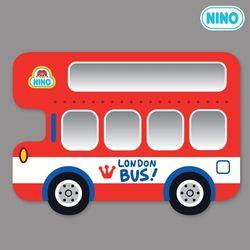 [니노 브랜드 중복상품] 니노 미러보드 안전거울 (런던버스 측면)