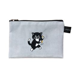 triangle cat card pouch