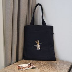 Navy Pocket Bag