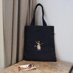 Navy Pocket Bag