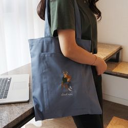Blue Pocket Bag