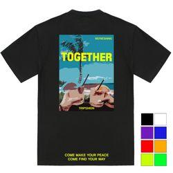 리프레싱 비치 티셔츠 - 8컬러