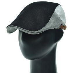 [더그레이]DMH50.블록 배색 헌팅캡 남성 골프 모자