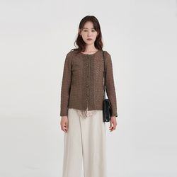 knitting round cardigan (2colors)