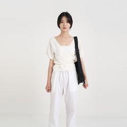 two-way lap blouse (2colors)