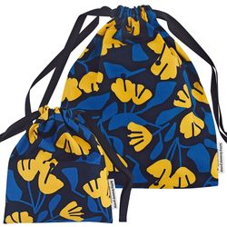 Forsythia Storage Bag  by Jessica Nielsen (medium)