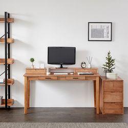 이스테지아 원목 1500 컴퓨터 S 책상