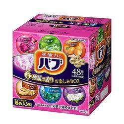 [바브] 탄산 입욕제 48정 (4종류 향기 컬렉션)