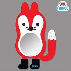 [니노 브랜드 중복상품] 니노 미러보드 안전거울 욕실거울 (여우)