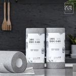그레이 원데이 수세미2개+싱크대거름망(50매)