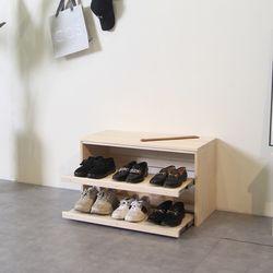 밀리네 신발장 현관원목신발장