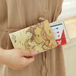 세계지도 여권케이스