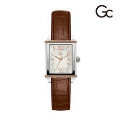 [공식 백화점AS] Gc CableClass 여성시계(가죽)Y32003L1