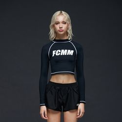[FCMM] 우먼스 빅로고 스윔 래쉬가드