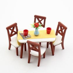 [adico]DIY 미니어처 키트 - 식탁