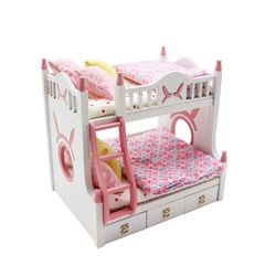 [adico]DIY 미니어처 키트 - 2층 침대